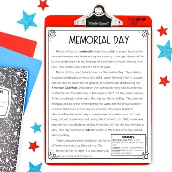 Memorial Day and Flag Day Bundle