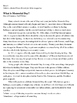 Memorial Day and Veterans Day Informational Writing Essay Common Core Aligned