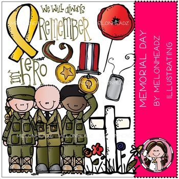 Memorial Day clip art - by Melonheadz