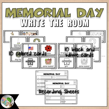 Memorial Day - Write the Room