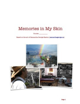 Memories in My Skin- Photoshop Collage Assignment
