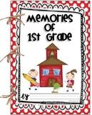 Memories of 1st Grade {Memory Book}
