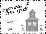 Memories of First Grade (memory book)