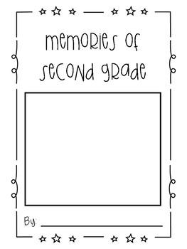 Memories of School book English- Kindergarten, First, Second Grade