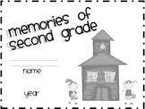 Memories of Second Grade (memory book)