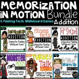 Brain Break Memorization In Motion Bundle for Addition Facts
