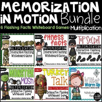 Brain Breaks Memorization In Motion Bundle for Multiplication Facts