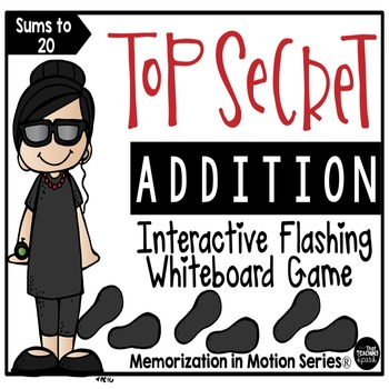 Memorization in Motion Addition Facts- Top Secret Edition