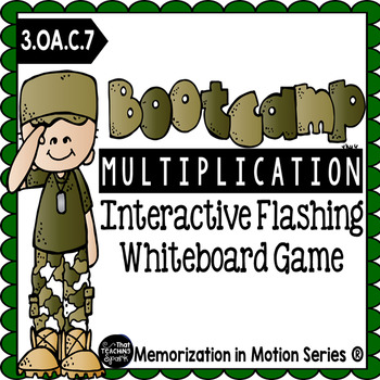 Memorization in Motion Multiplication- Bootcamp Edition