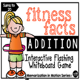 Brain Break for Memorization in Motion Addition Fitness Facts
