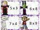 Memorization in Motion Multiplication- Monster Mash Halloween Edition