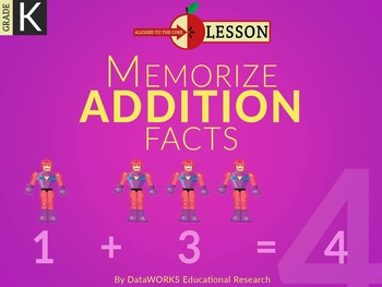 Memorize Addition Facts