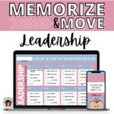 Memorize & Move Leadership