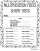 Memorize Multiplication Facts to Become a Multiplication Shark
