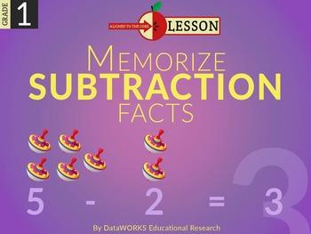 Memorize Subtraction Facts