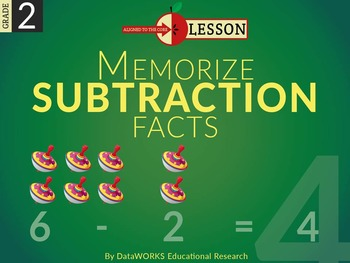 Memorize Subtraction Facts