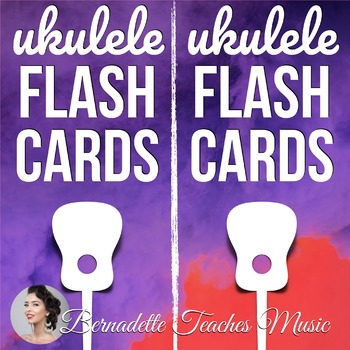 Memorize Your Chords! Ukulele Flash Cards (Print and Fold!)