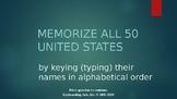Memorize the 50 United States!