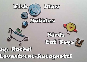 Staff Songs: Bundled Anchor Notes, Note Alphabet, Fish Blow Bubbles, Visual Do