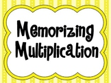 Memorizing Multiplication Posters