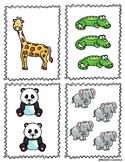 Memory 1-10 (Zoo Theme)