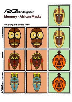 Memory African Masks