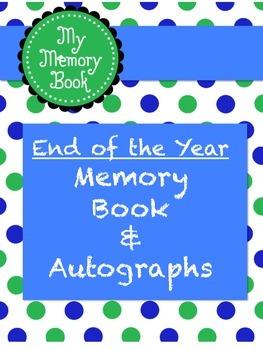 Memory & Autograph Book