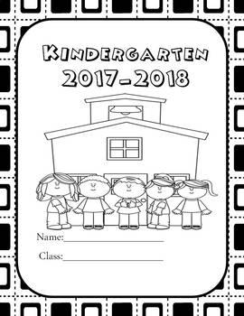 Memory Autograph Book for Kindergarten
