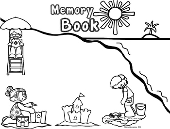 Memory Book Beach Theme