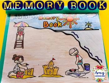 Memory Book Beach Theme