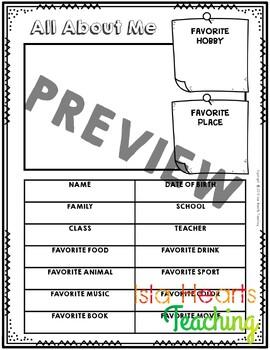 Third Grade Memory Book - Third Grade End of Year Activity