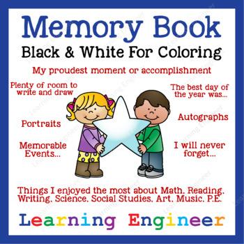 2nd Grade Memory Book - 3rd Grade Memory Book
