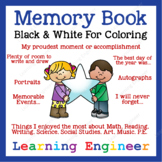 2nd Grade Memory Book & 3rd Grade Memory Book