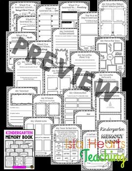 Kindergarten Memory Book - Kindergarten End of Year Activity