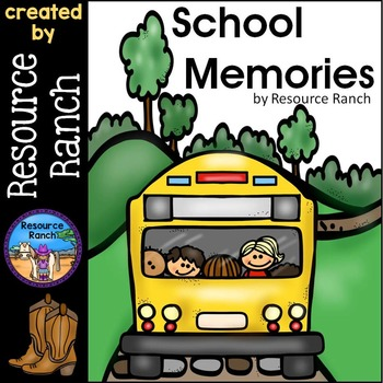 First Grade Memory Book End of Year