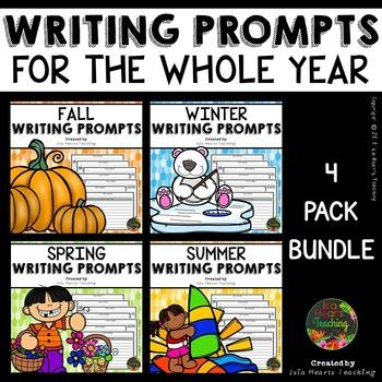 Writing Prompts: 2nd Grade, 3rd Grade, 4th Grade, 5th Grade