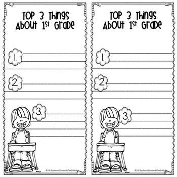 Memory Book-1st Grade
