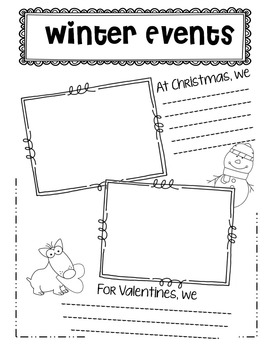 EDITABLE Memory Book - MOOSE COVER End of Year K, 1, 2, 3, 4