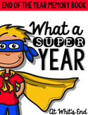 End Of the Year Memory Book {What a SUPER Year} Superhero