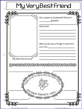 Memory Book for Grades 1 to 5