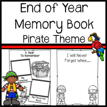 Memory Book -Writing Activities and End Of Year Activities