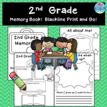 Memory Book 2nd Grade