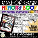 End-of-Year Memory Book - 2nd Grade