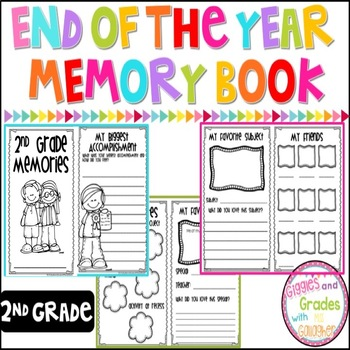 End of Year Memory Book-2nd Grade