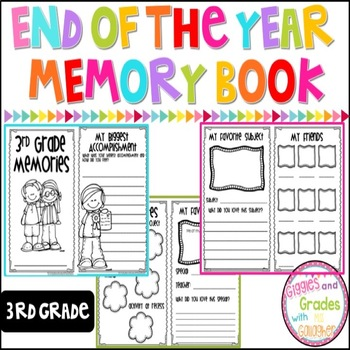 End of Year Memory Book-3rd Grade