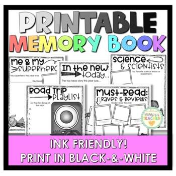 Memory Book - 3rd Grade