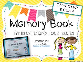 Memory Book {3rd Grade Edition}