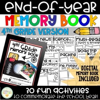 Memory Book - 4th Grade