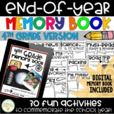 End-of-Year Memory Book - 4th Grade