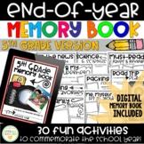 End-of-Year Memory Book - 5th Grade - DIGITAL + PRINTABLE